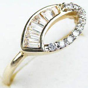 Zlatý prsteň Glare 10