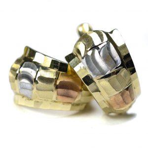Zlaté náušnice Glare 84
