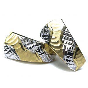 Zlaté náušnice Glare 83