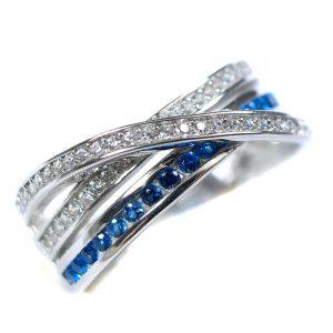 Strieborný prsteň Glare 94
