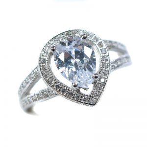 Strieborný prsteň Glare 79