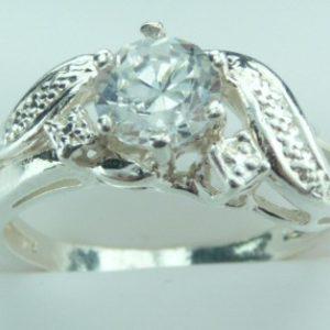 Strieborný prsteň Glare 10