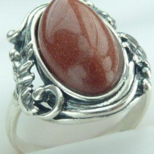 Strieborný prsteň Glare 15