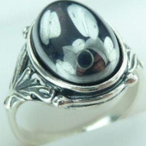 Strieborný prsteň Glare 19