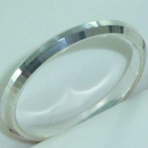 Strieborný prsteň Glare 33