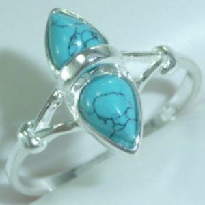 Strieborný prsteň Glare 53