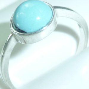 Strieborný prsteň Glare 58