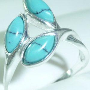 Strieborný prsteň Glare 60