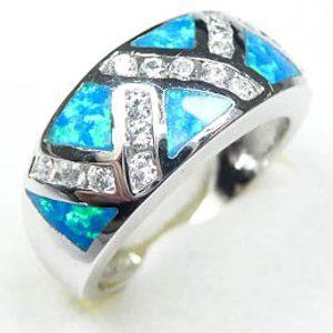 Strieborný prsteň Glare 76
