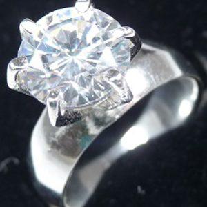 Strieborný prsteň Glare 106