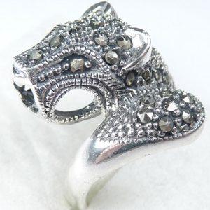 Strieborný prsteň Glare 108