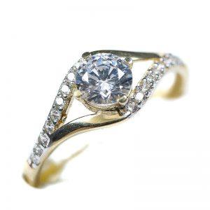 Zlatý prsteň Glare 87