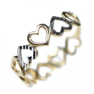 Zlatý prsteň Glare 48