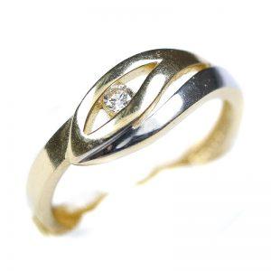 Zlatý prsteň Glare 50