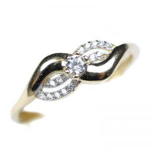 Zlatý prsteň Glare 62