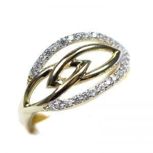 Zlatý prsteň Glare 70