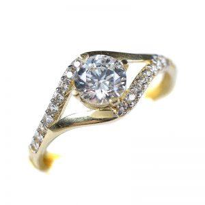 Zlatý prsteň Glare 78