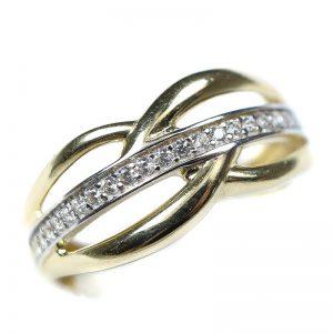 Zlatý prsteň Glare 83