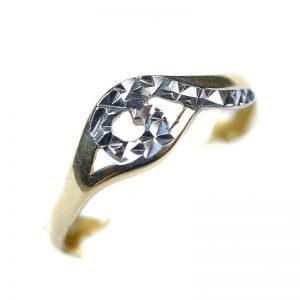Zlatý prsteň Glare 84